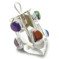 Buy Double Lucky Purple Quartz Blue Lace Agate Good Luck Powers Lucky Bracelets