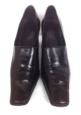Buy Franco Sarto Shoes 8.5 Womens Brown Leather Heels