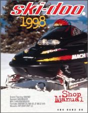 Buy 1998 Ski-Doo Grand Touring Summit MX Z Scandic Formula Service Repair Manual CD