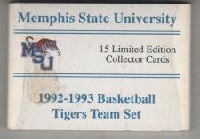 Buy 1992-1993 Memphis State University Sealed Basketball Card Set Penny Hardaway