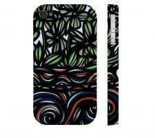 Buy Larimer Yellow Red Iphone 4/4S Apple Phone Case Flowers Botanical