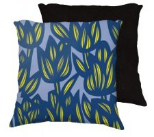 Buy Parmalee 18x18 Blue Yellow Pillow Flowers Floral Botanical Cover Cushion Case Throw P