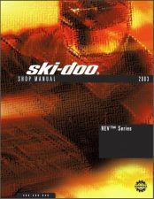 Buy 2003 Ski-Doo Rev Snowmobiles Service Repair Manual CD - BRP MX Z 600 800 MXZ
