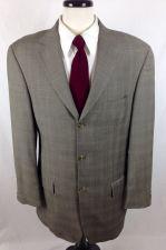 Buy Giorgio Cosani Blazer 42 L Gray Wool Sport Coat Jacket Mens