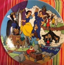 Buy The Disney Collection The Enchantment Of Snow White Collectible Plate