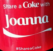 Buy 2015 Share a Coke With Joanna 20oz Collectible, Unopened Fast Shipping