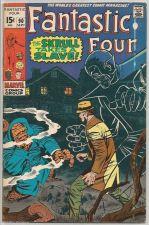 Buy Fantastic Four #90 Marvel Comics 1969 Stan Lee Jack Kirby Fine+ SKRULL