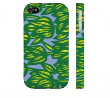 Buy Hopson Green Yellow Iphone 4/4S Apple Phone Case Flowers Botanical