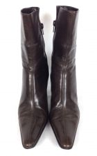 Buy Nine West Shoes 8.5 Womens Brown Leather Boots