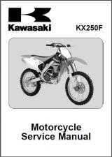 Buy 06-08 Kawasaki KX250F Service Repair Workshop Manual CD ..- KX 250 F KX250 250F