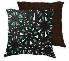 Buy Sanzenbacher 18x18 Green White Brown Back Cushion Case Throw Pillow Cover 631 Art