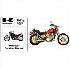 Buy 85-01 Kawasaki Vulcan 750 Twin Service Repair & Parts Manual CD .. VN750