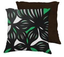 Buy Masuda 18x18 Green White Brown Back Cushion Case Throw Pillow Cover 631 Art