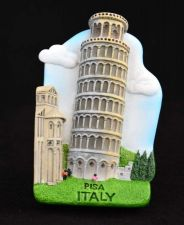 Buy PISA ITALY 3D SCULPTURE FRIDGE MAGNET MEMORIAL COLLECTIBLE GIFT SOUVENIR GIFT