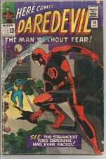 Buy DAREDEVIL #10 Marvel Comics 1st Print G range Bob Powell WALLY WOOD / Stan Lee