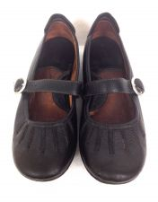 Buy Born Shoes Womens 8.5 Black Leather Loafers