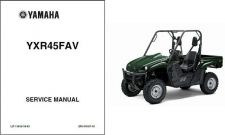 Buy 06-09 Yamaha Rhino 450 UTV Service Repair Manual CD - YXR450 YXR YXR45FAV