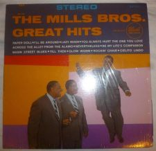 "Buy MILLS BROTHERS 1959 Greatest Hits Vinyl 12"" LP 33RPM 1s PRESS 25157 Jazz EX+"