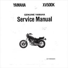 Buy 1983-1987 Yamaha Virago XV500 Service Repair Workshop Manual CD - XV 500 XV500K
