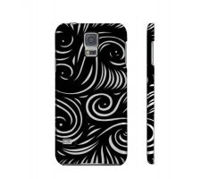 Buy Crosson Black White Samsung Galaxy S5 Phone Case