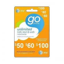 Buy AT&T GoPhone $60 Refill. SUPER FAST REFILL! Applied DIRECTLY TO PHONE