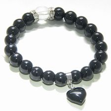 Buy Cute Crystals and Blue Goldstone Good Luck Talisman Bracelet