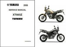 Buy 2008-2014 Yamaha XT660Z Tenere Service Repair Manual CD .... XT 660 Z Ténéré
