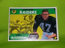Buy VINTAGE KENT McCLOGHLAN RAIDERS 1961 TOPPS #12 GD/VG
