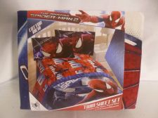 Buy The Amazing Spiderman 2 Slash Twin Sheet, Flat Fitted Sheet, Pillow Case Marvel