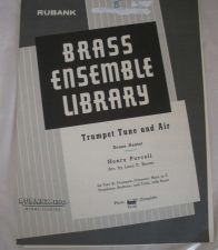 Buy Trumpet Tune & Air - Purcell/Brown - Brass Sextet