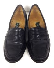 Buy Cole Haan Shoes 9.5 Mens Black Leather Loafers