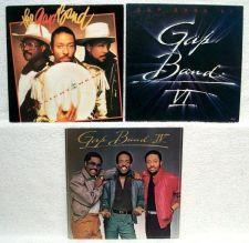 Buy THE GAP BAND ~ Lot of ( 3 ) R&B / Soul / Funk LPs