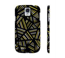 Buy Graden Yellow Black Samsung Galaxy S4 Phone Case