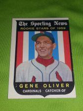 Buy VINTAGE GENE OLIVER CARDINALS 1959 TOPPS ROOKIE STARS #135 GD/VG