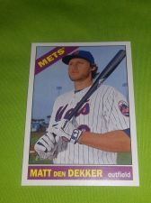 Buy MLB MATT DEN DEKKER METS SUPERSTAR 2015 TOPPS HERITAGE #423 GEM MNT