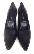 Buy Helmut Lang Shoes 5.5 Womens Black Leather Heels