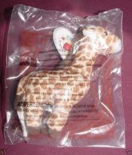 Buy Topper the Giraffe #16 2009 Ty Teenie Beanie McDonalds 30 Year Happy Meal Toy