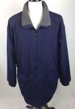 Buy J Crew Jacket Mens L Blue Nylon Long Sleeve