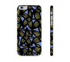 Buy Borza Yellow Blue Flowers Floral Botanical Iphone 6 Phone Case
