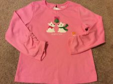 Buy Gymboree Cherry All The Way Girls Puppy Love L/S Shirt Pink Size 4t