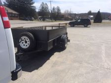 Buy Utility Trailer 4x10 Titled Works Great, lights work, with spare tire