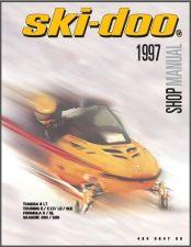 Buy 1997 Ski-Doo Tundra Touring Formula Scandic Service Repair Shop Manual CD