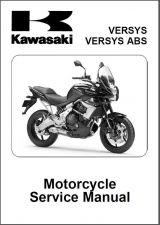 Buy 10-14 Kawasaki Versys ABS Service Repair Workshop Manual CD .... MK2 KLE650 650