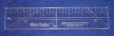 """Buy 8"""" Mini-Ruler. Acrylic ~3/8"""" Thick. Quilting/Sewing"""