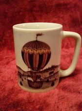 Buy Otagiri Japan Coffee Mug Cup Hot Air Ballon Bears Vintage