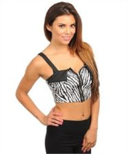Buy Trendy Women Casual tribal ethnic crop top M,L