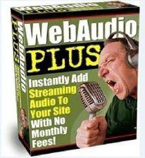 Buy Web Audio Plus - Add Voice To Website Sript Templates On CD