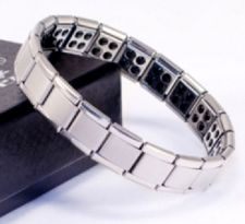 Buy ELECTRIFIED FEEL BETTER EJCN-001A Titanium Germanium Ion Bracelet 80 Stones