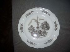 Buy Wedgwood Plate- 'The Myers Park Baptist Church Sanctuary', Charlotte, N.C.