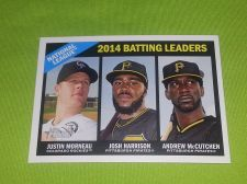 Buy MLB N.L. BATTING LEADERS 2015 TOPPS HERITAGE #215 GEM MNT